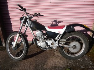 2001 Yamaha TY250 /  Serow XT225 Trials Electric start For Sale