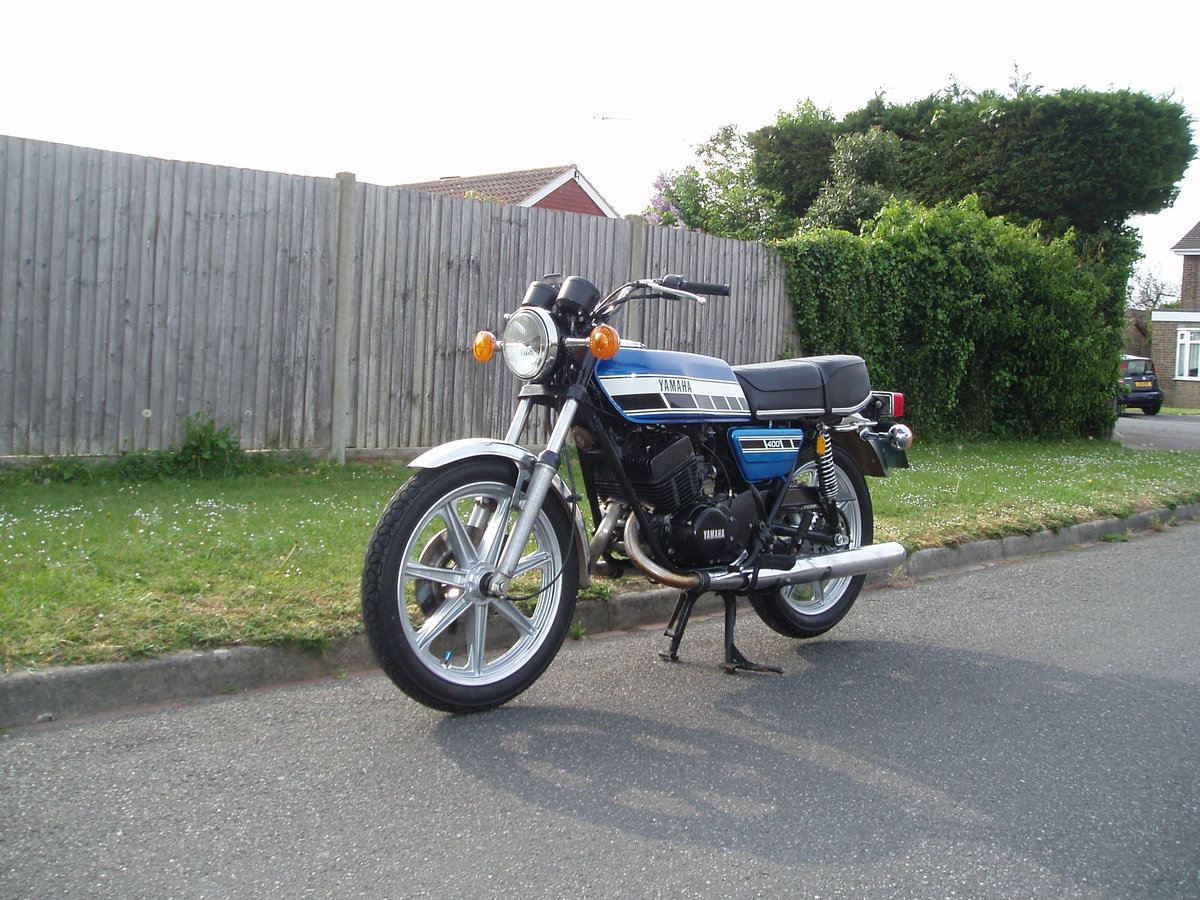 Yamaha RD400C 1AE 1976 Blue For Sale (picture 3 of 6)
