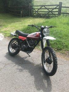 Yamaha xt250 1981