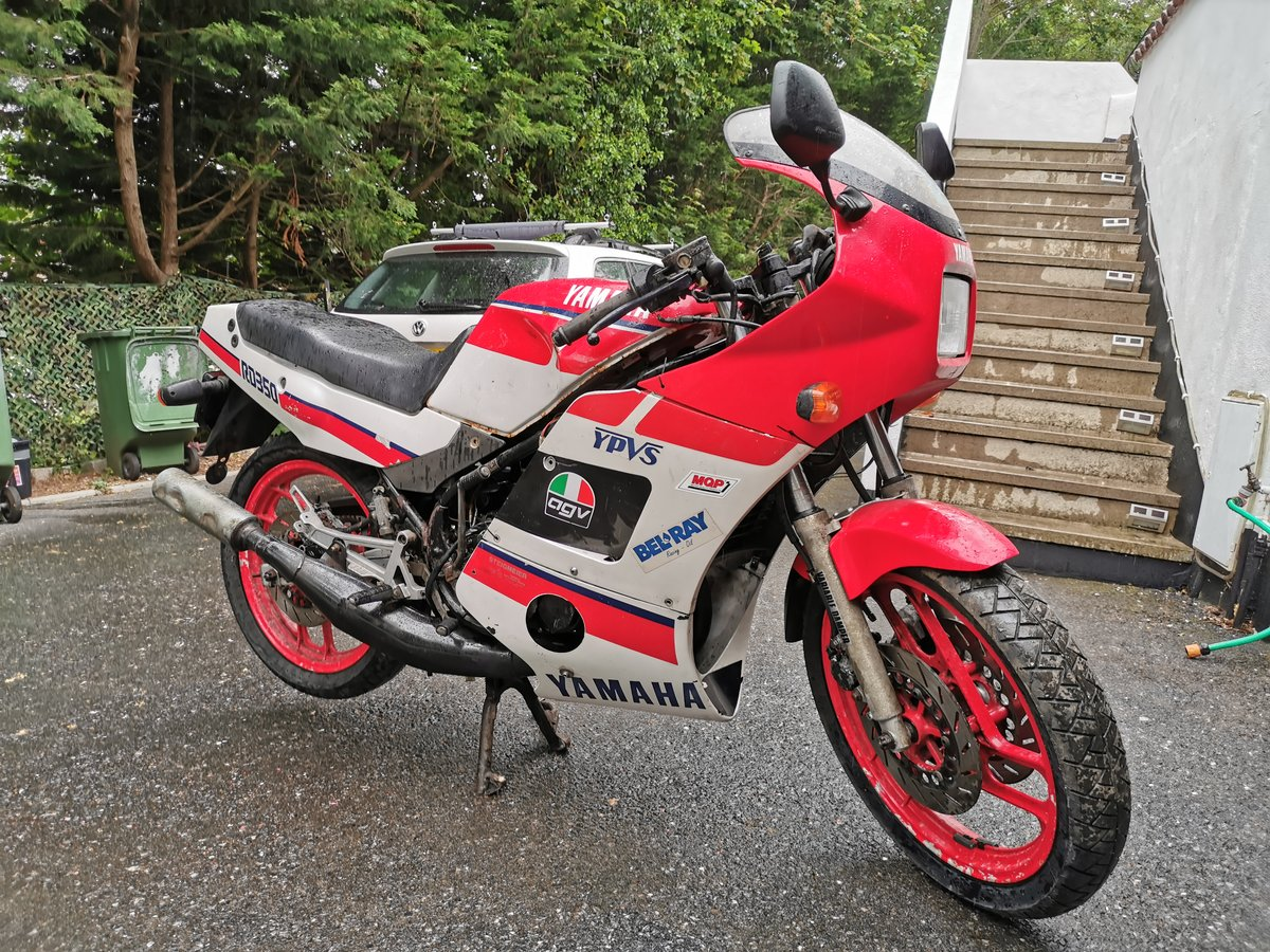 1986 Yamaha rd350 ypvs low mileage BARGAIN  FREE UK DEL For Sale (picture 4 of 6)