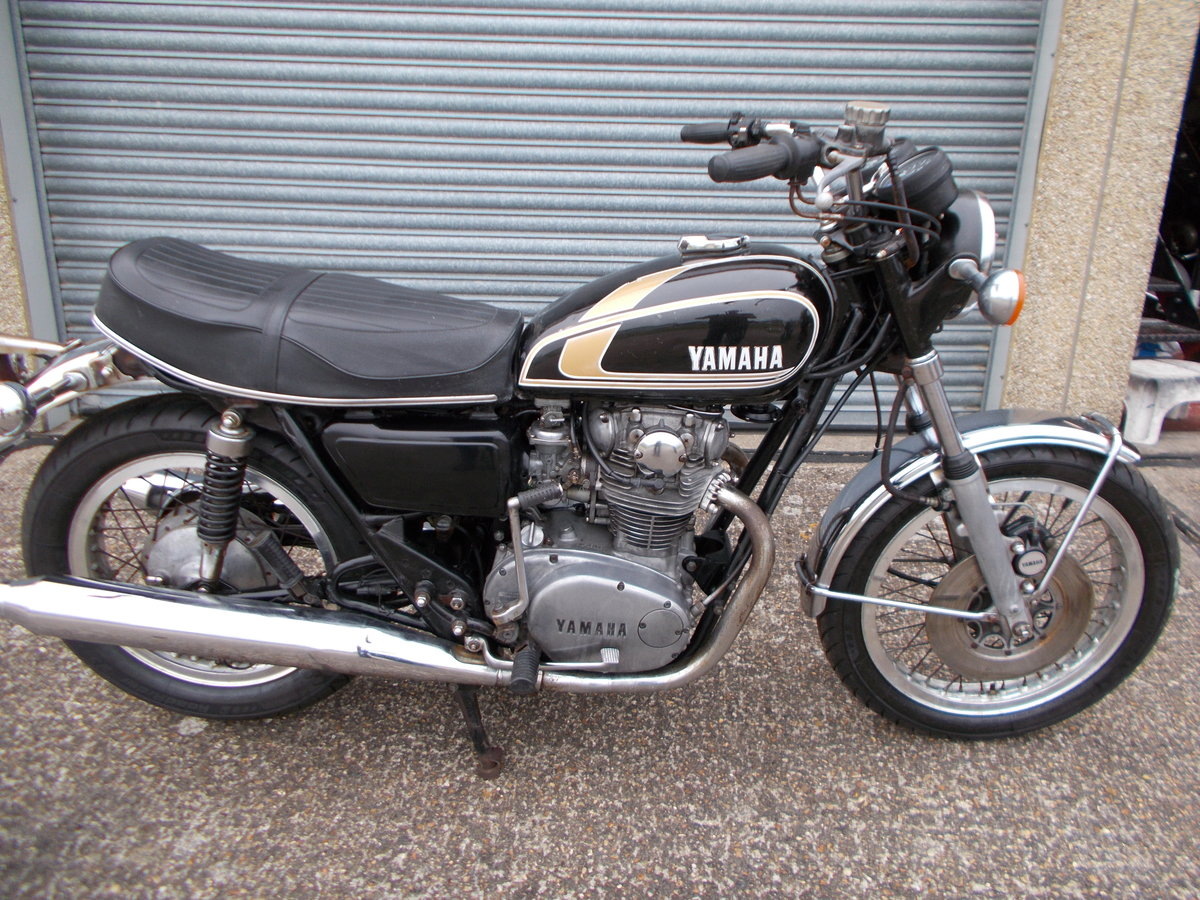 1975 YAMAHA XS650B ROADSTER For Sale (picture 1 of 6)