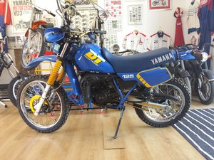 1987 Yamaha DT 125 LC only 4100 miles like new !!!! For Sale
