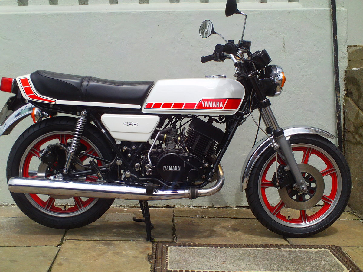1979 YAMAHA RD400 E SOLD (picture 1 of 6)
