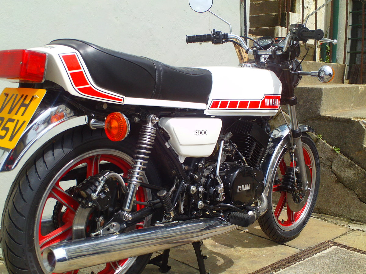 1979 YAMAHA RD400 E SOLD (picture 2 of 6)