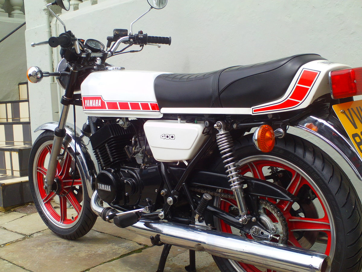 1979 YAMAHA RD400 E SOLD (picture 4 of 6)