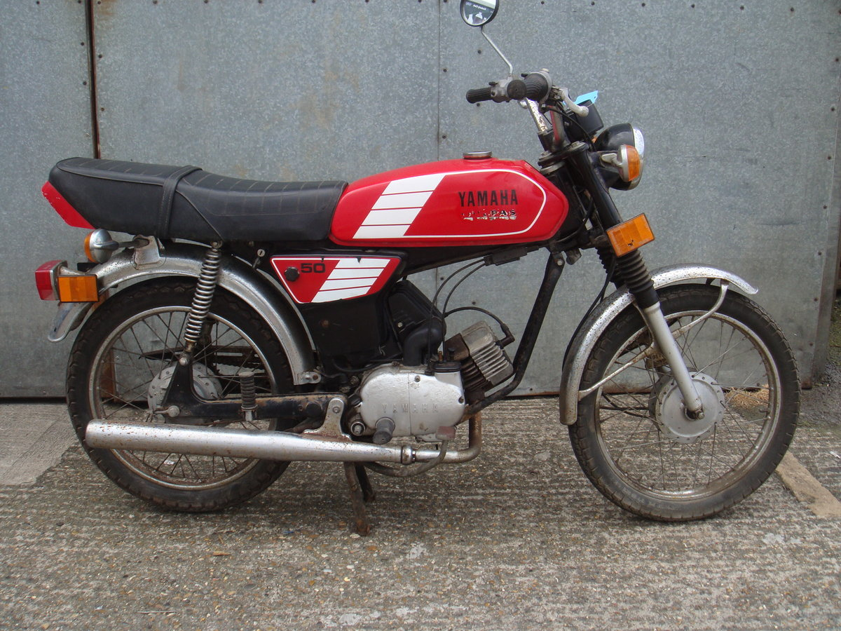 1989 Yamaha FS1 / FS1E 50cc - Runs and rides - Ideal restoration  For Sale (picture 1 of 6)