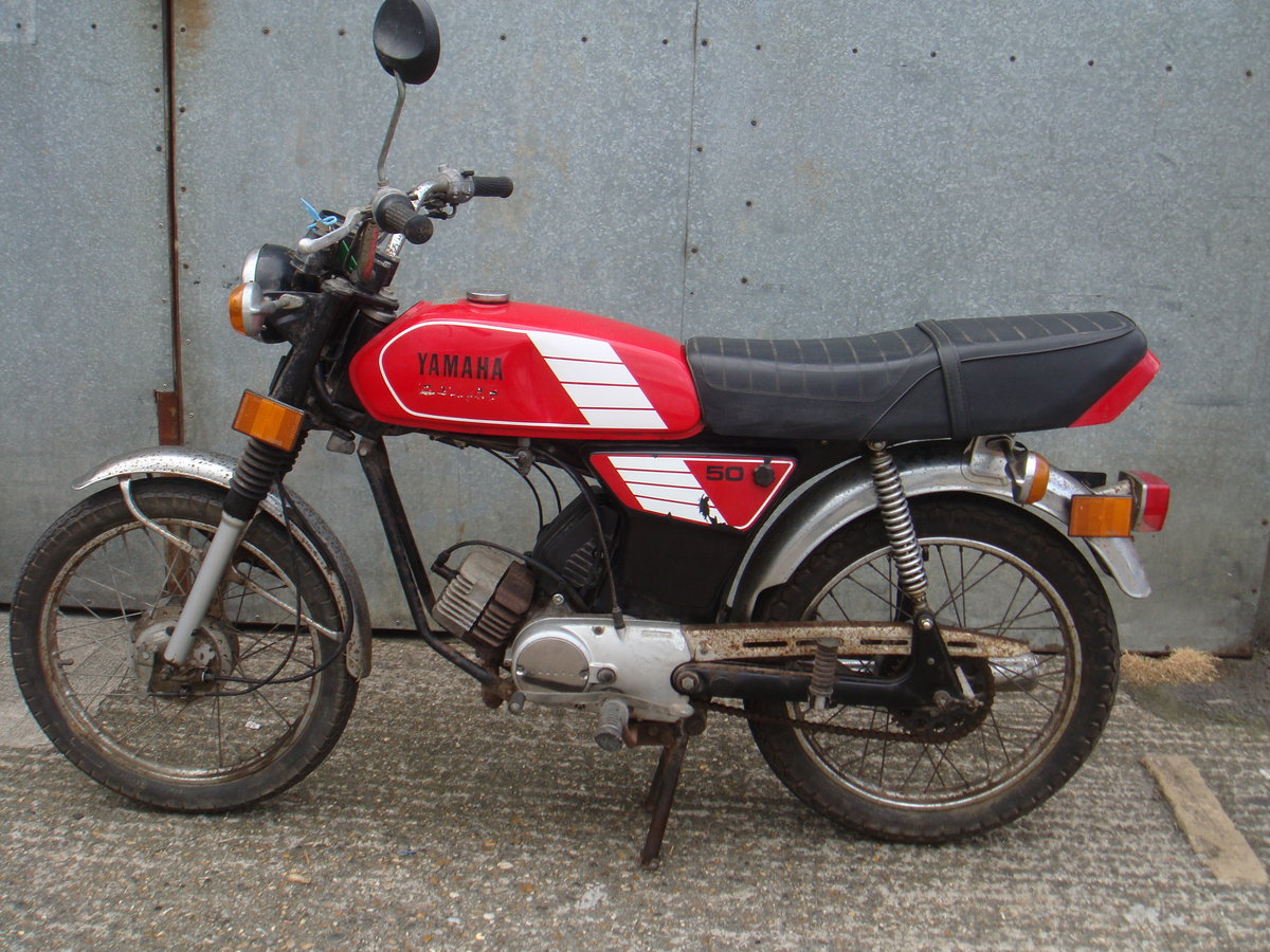 1989 Yamaha FS1 / FS1E 50cc - Runs and rides - Ideal restoration  For Sale (picture 2 of 6)
