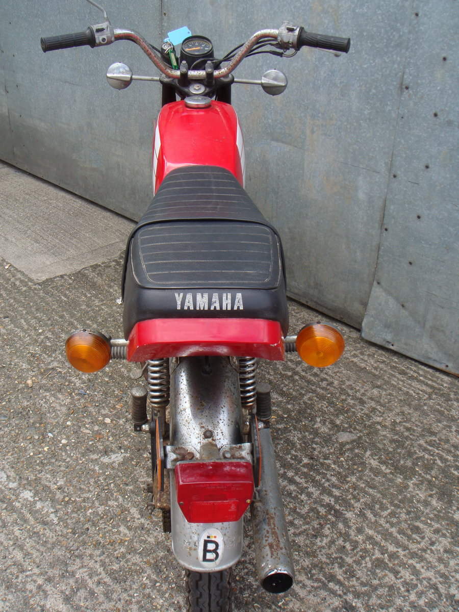 1989 Yamaha FS1 / FS1E 50cc - Runs and rides - Ideal restoration  For Sale (picture 4 of 6)