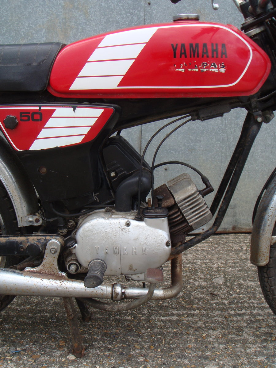 1989 Yamaha FS1 / FS1E 50cc - Runs and rides - Ideal restoration  For Sale (picture 5 of 6)