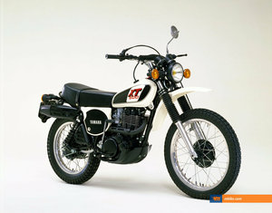 1979 1978 Yamaha XT500 UK bike