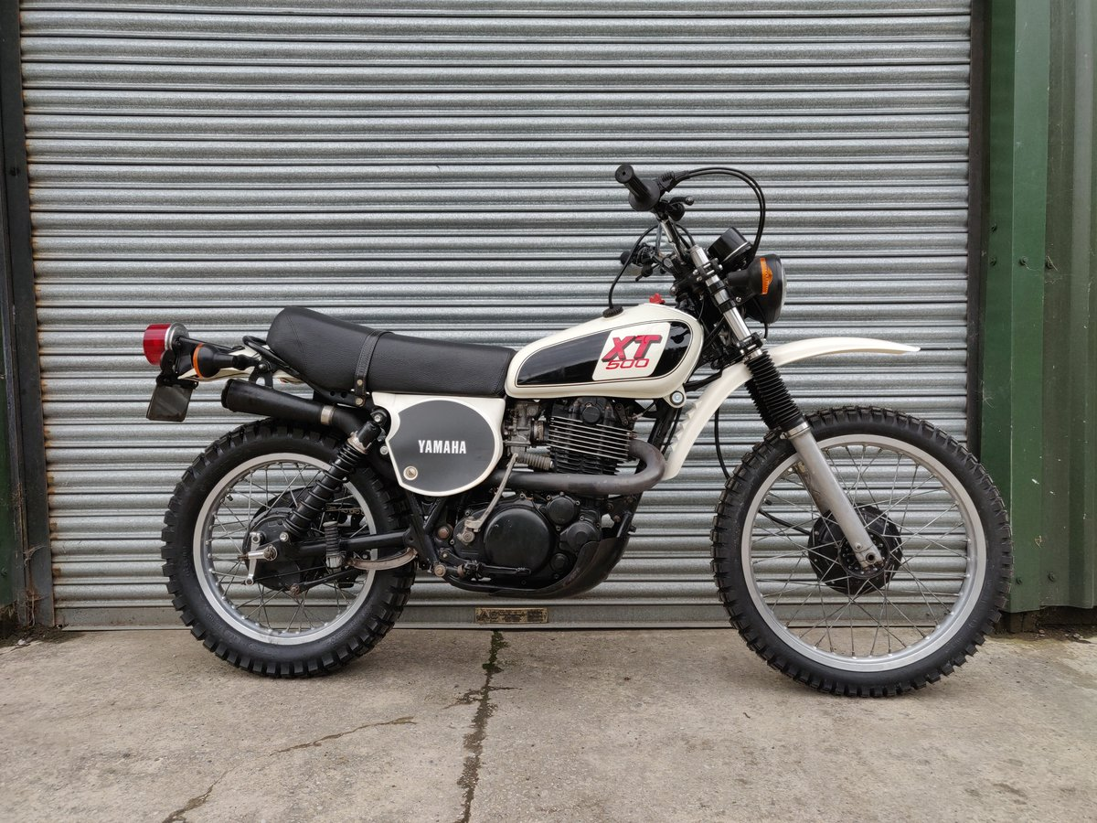 1979 1978 Yamaha XT500 UK Original bike. SOLD For Sale (picture 3 of 8)