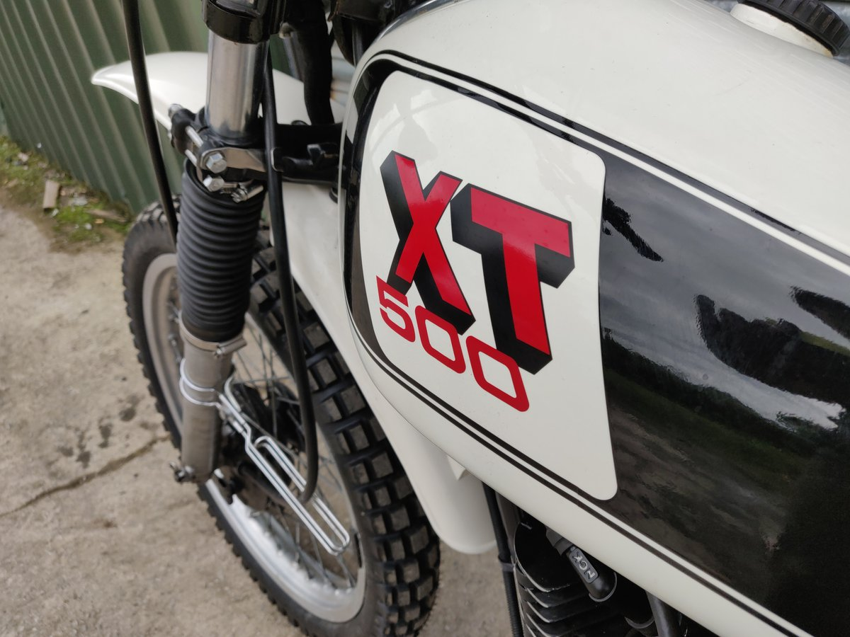 1979 1978 Yamaha XT500 UK Original bike. SOLD For Sale (picture 4 of 8)