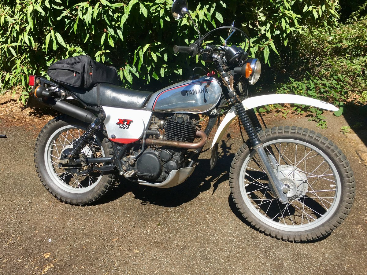 1981 XT500 C Twin Shock For Sale (picture 1 of 6)