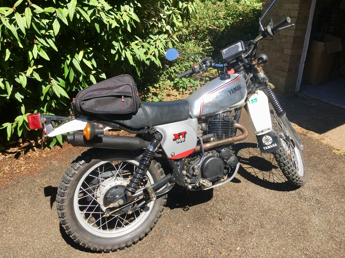 1981 XT500 C Twin Shock For Sale (picture 4 of 6)