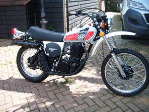 1976 YAMAHA XT500