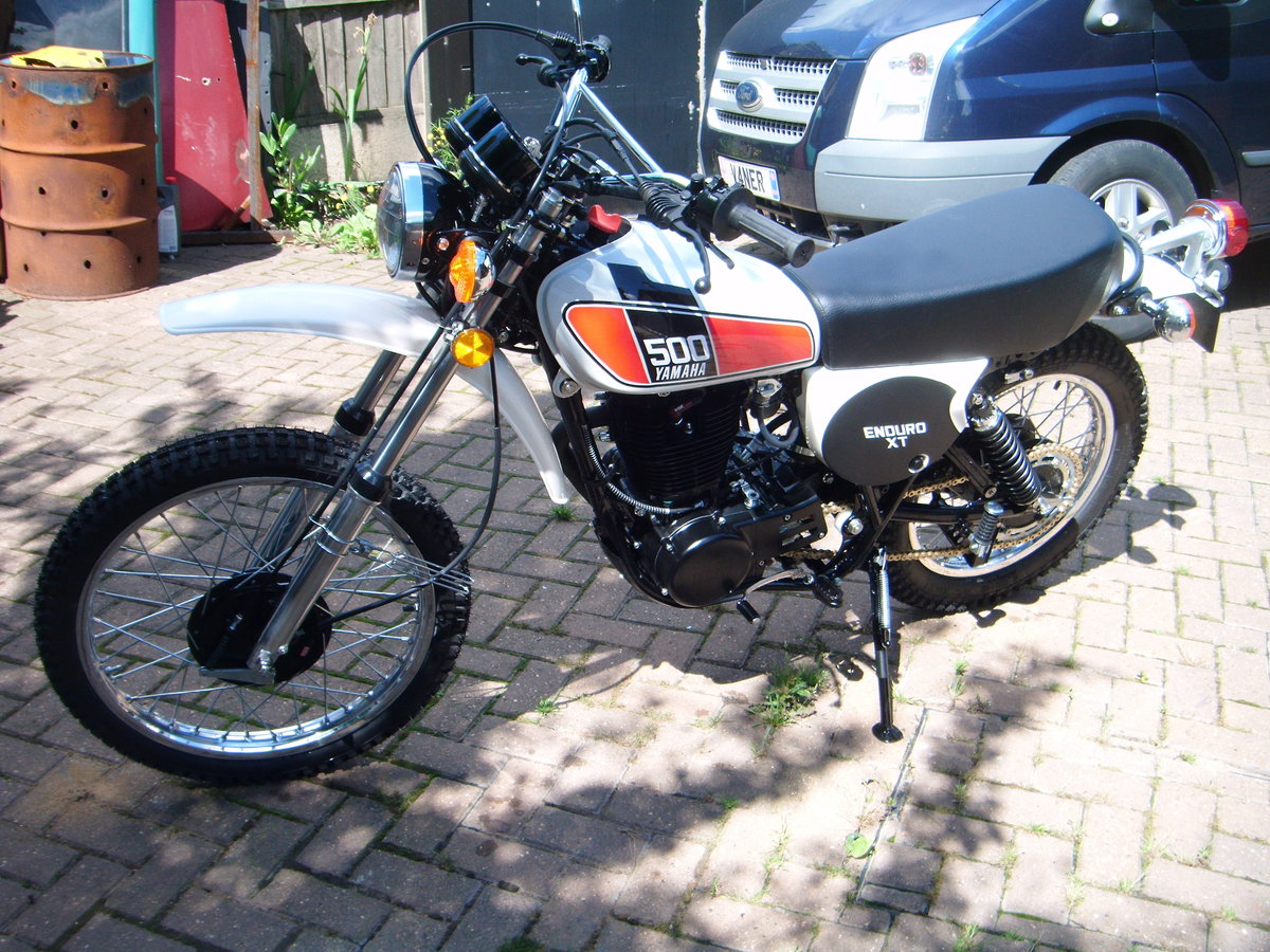 1976 YAMAHA XT500  SOLD (picture 2 of 6)