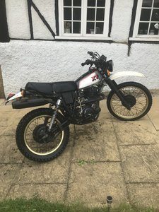 1981 Yamaha XT400 not XT500
