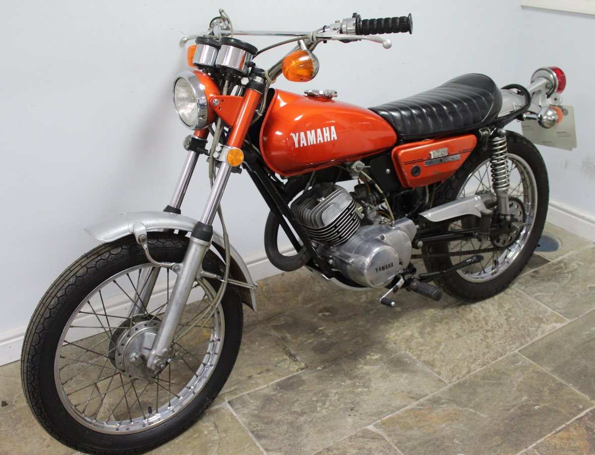 1972 Yamaha DT125 Two Stroke Trail Bike  SUPERB original  SOLD (picture 6 of 6)