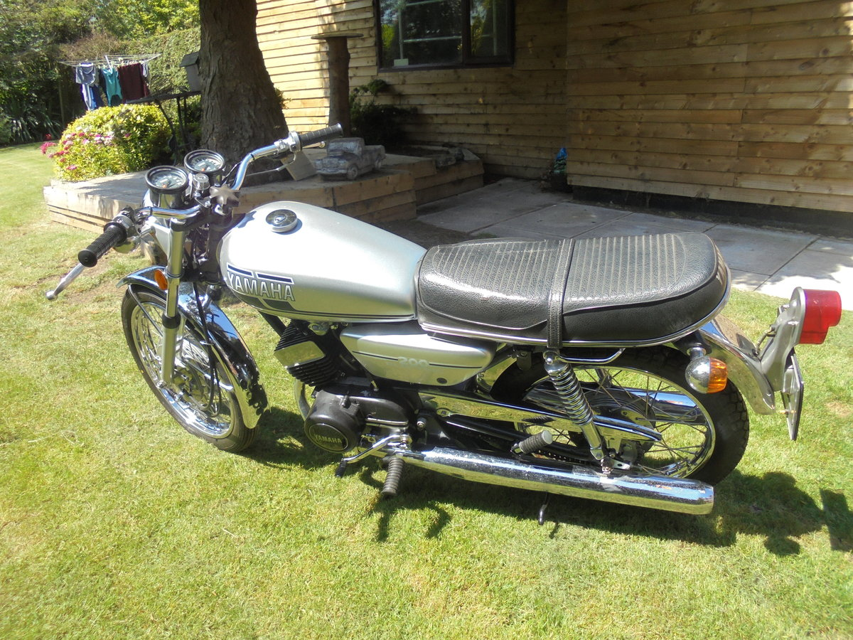 yamaha rd200 electric 1976 stunner wanted For Sale (picture 4 of 6)