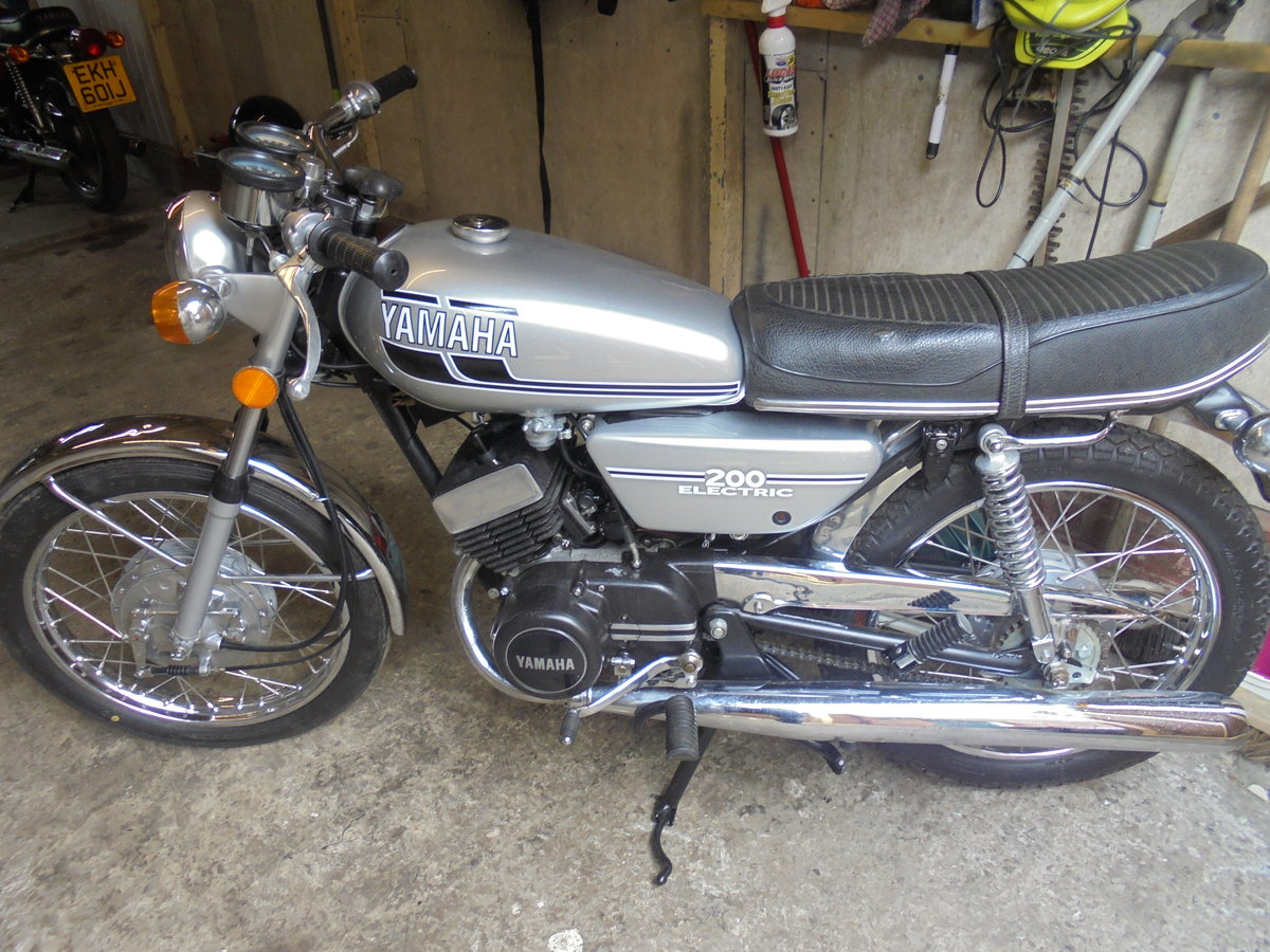 yamaha rd200 electric 1976 stunner wanted For Sale (picture 5 of 6)