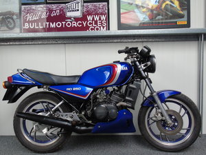 Yamaha RD250 LC RD 250 1981 UK Delivery For Sale