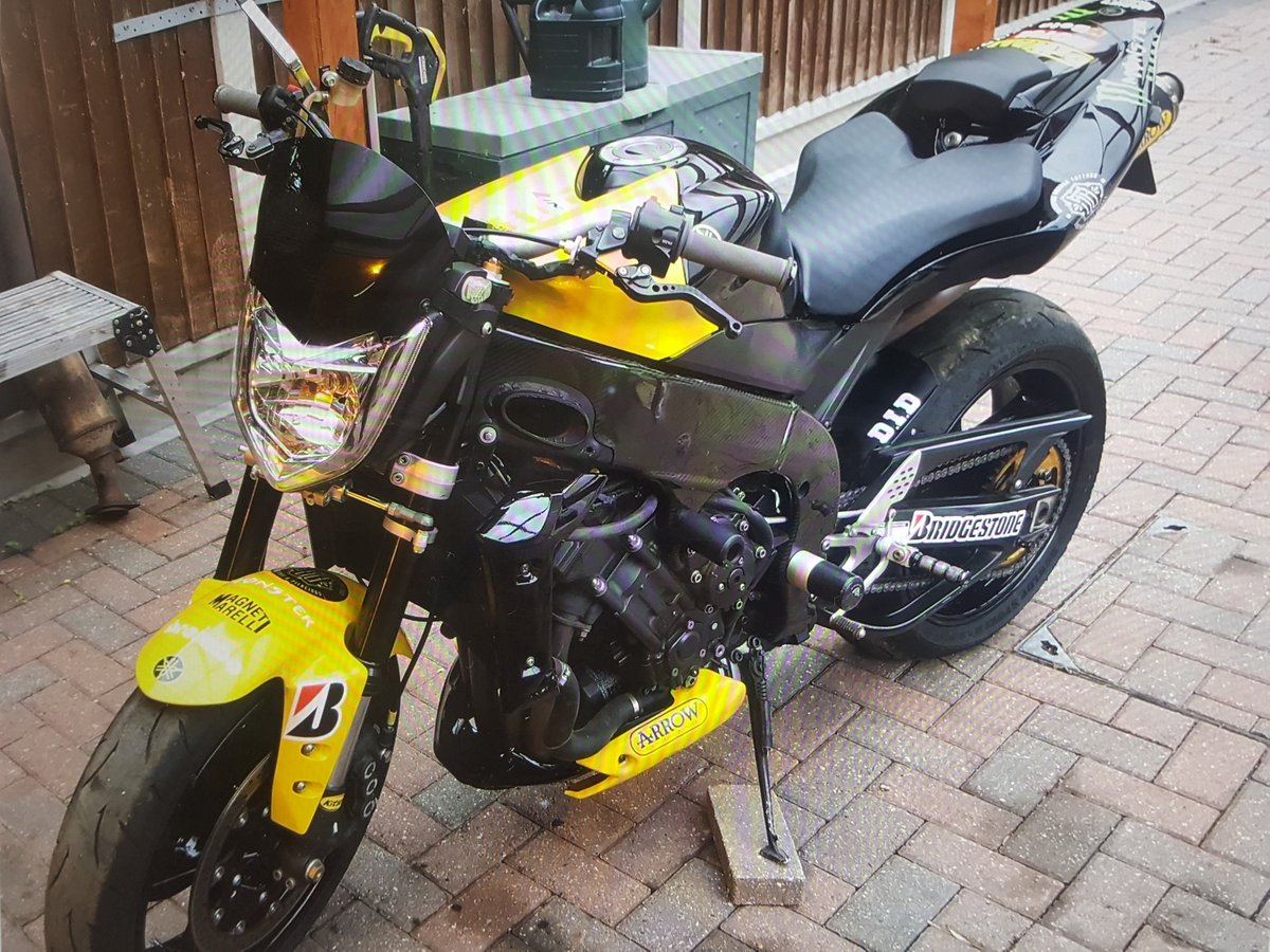 2006 Yamahe R1 Street Fighter ( Track day toy) For Sale (picture 2 of 2)