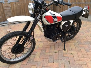 1976 YAMAHA XT500c EARLY BIKE xt 500 For Sale