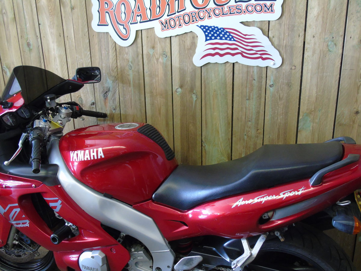 1999 Yamaha YZF 600 YZF600R Thundercat Full Service History For Sale (picture 4 of 6)