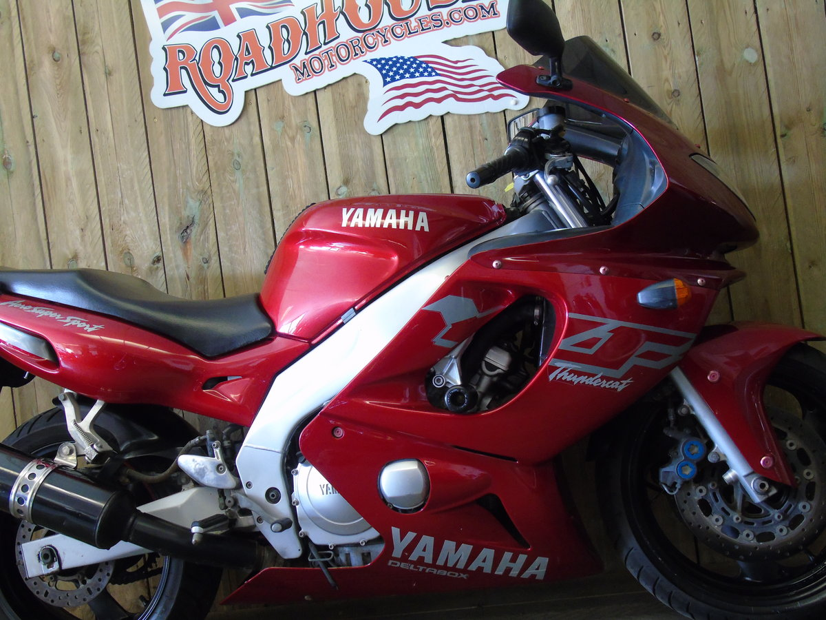 1999 Yamaha YZF 600 YZF600R Thundercat Full Service History For Sale (picture 5 of 6)