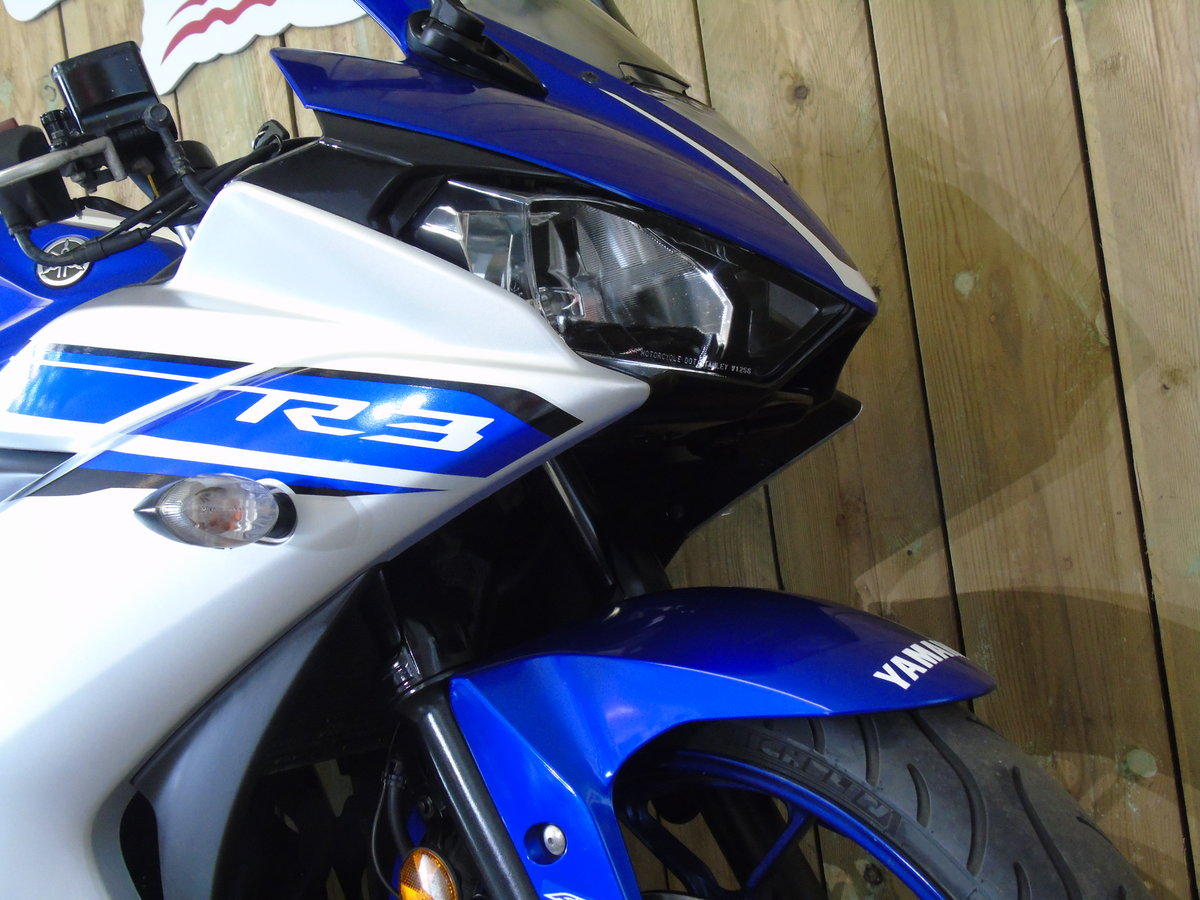Yamaha YZF R3 2016 ABS One Owner From New Service History  For Sale (picture 4 of 6)