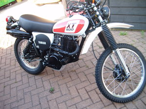 1977 YAMAHA XT500 SOLD