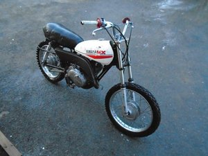 YAMAHA GT MX80 ENDURO MOTORBIKE (1973) WHITE US IMPORT!