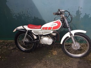 EXTRA LOT: Lot 126 - A 1973 Yamaha TY80 - 10/08/2019 SOLD by Auction