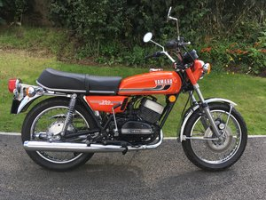 1974 Yamaha RD350B Torque Induction Matching Number's