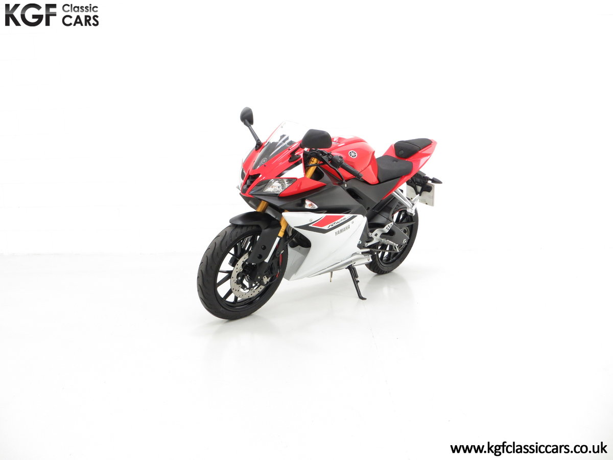 2016 A Race-Bred Yamaha YZF-R125 with Just 382 Miles SOLD (picture 2 of 6)