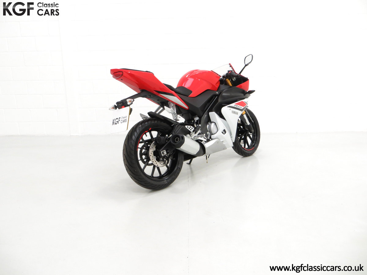 2016 A Race-Bred Yamaha YZF-R125 with Just 382 Miles SOLD (picture 5 of 6)