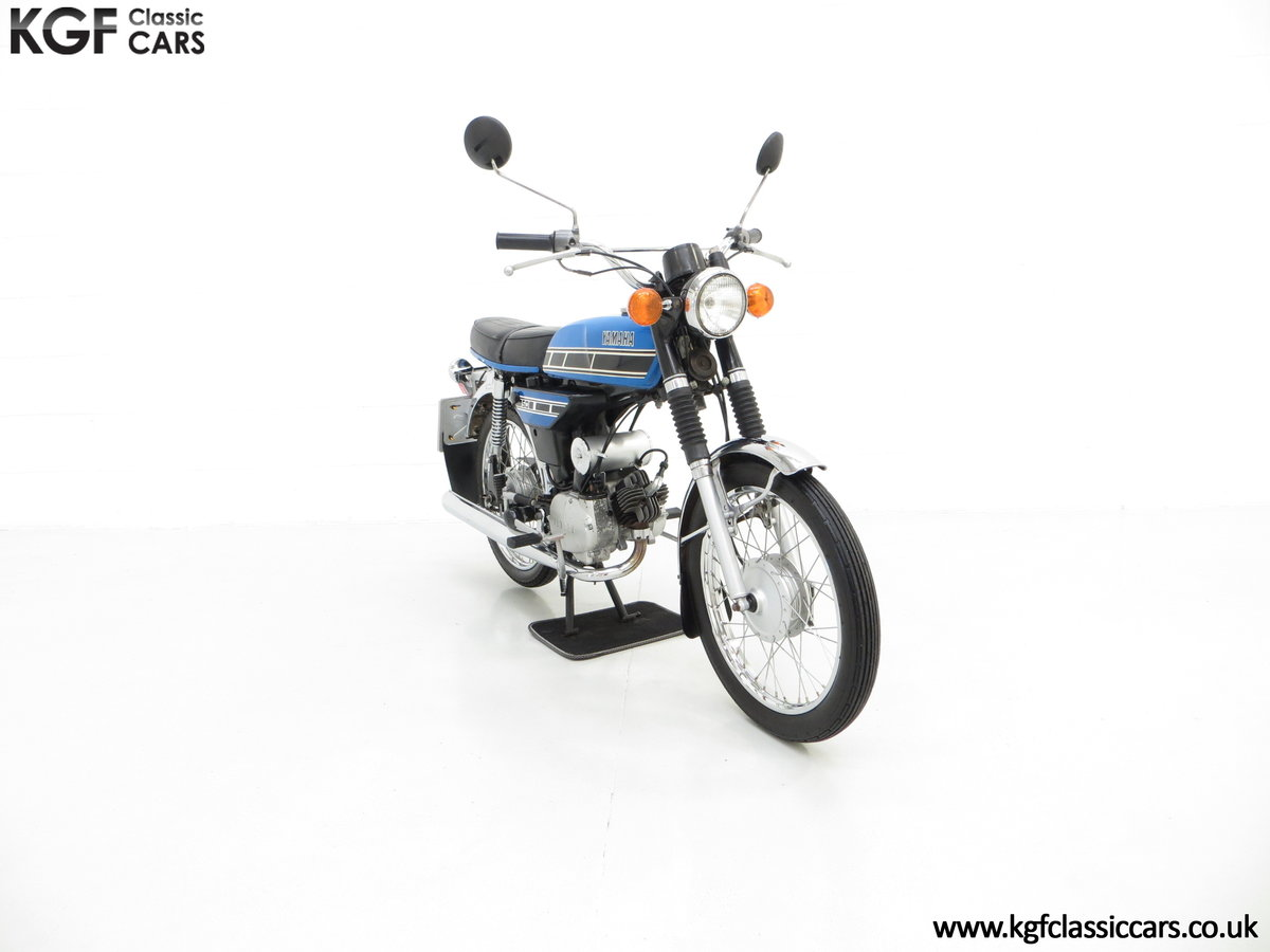 1977 An Outstandingly Original Matching Numbers UK Yamaha FS1-E SOLD (picture 1 of 6)