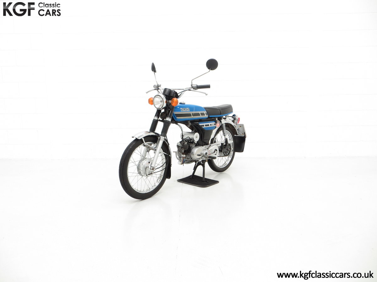 1977 An Outstandingly Original Matching Numbers UK Yamaha FS1-E For Sale (picture 2 of 6)