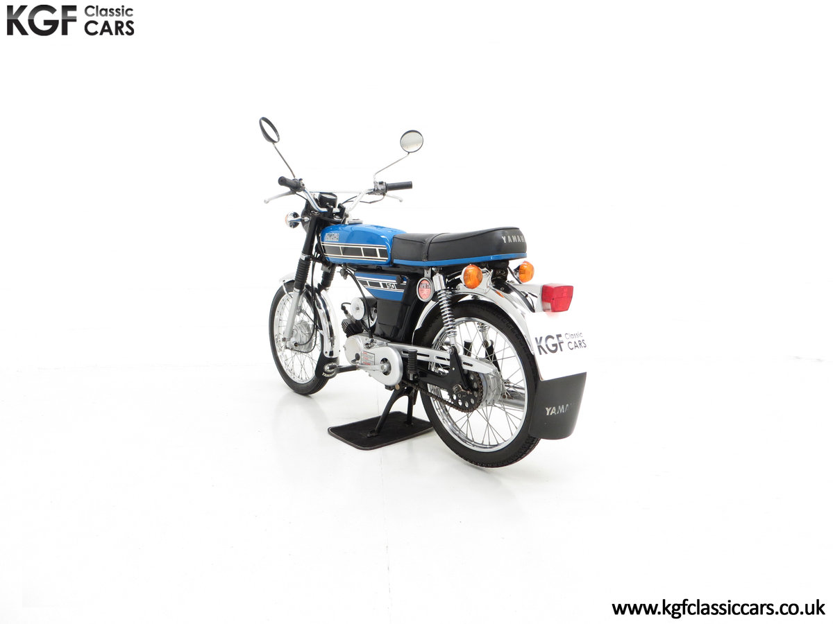 1977 An Outstandingly Original Matching Numbers UK Yamaha FS1-E For Sale (picture 4 of 6)