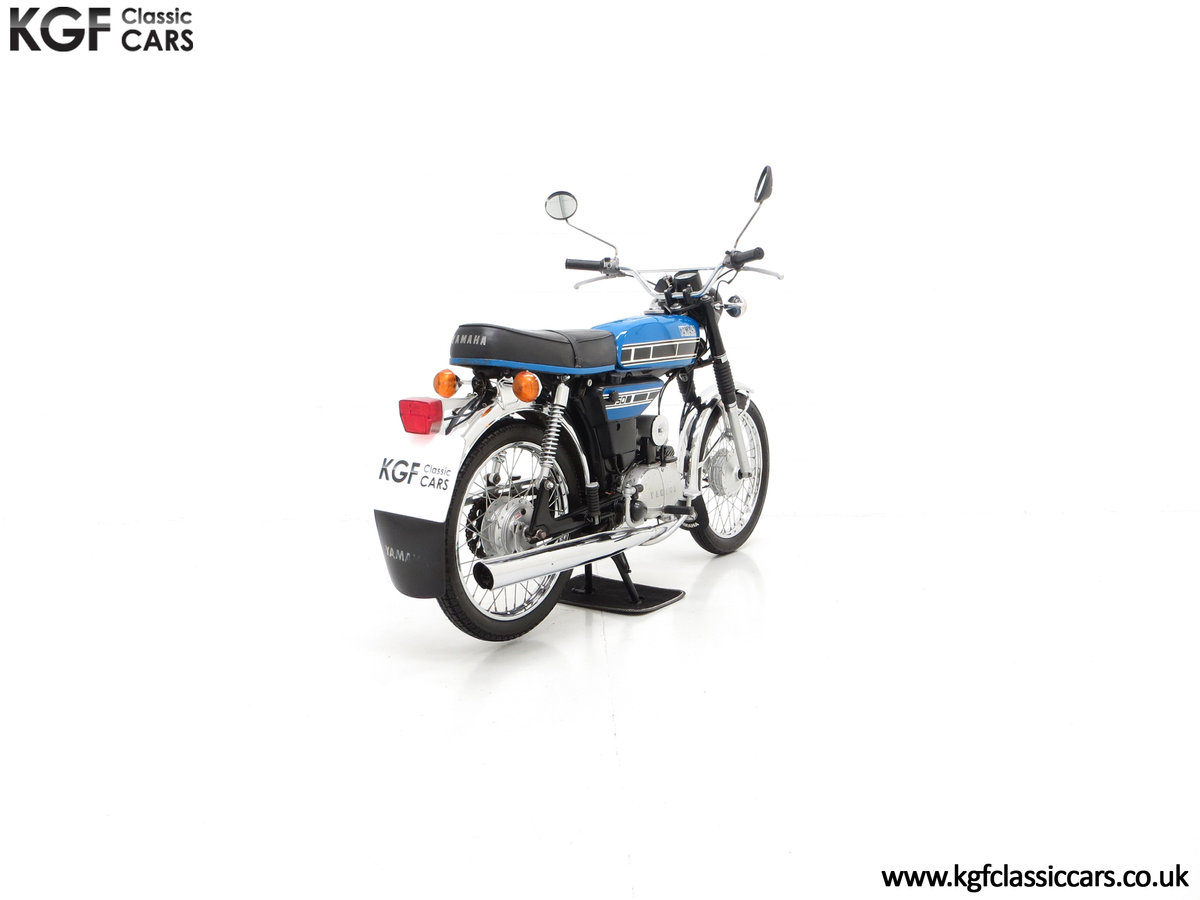 1977 An Outstandingly Original Matching Numbers UK Yamaha FS1-E For Sale (picture 5 of 6)