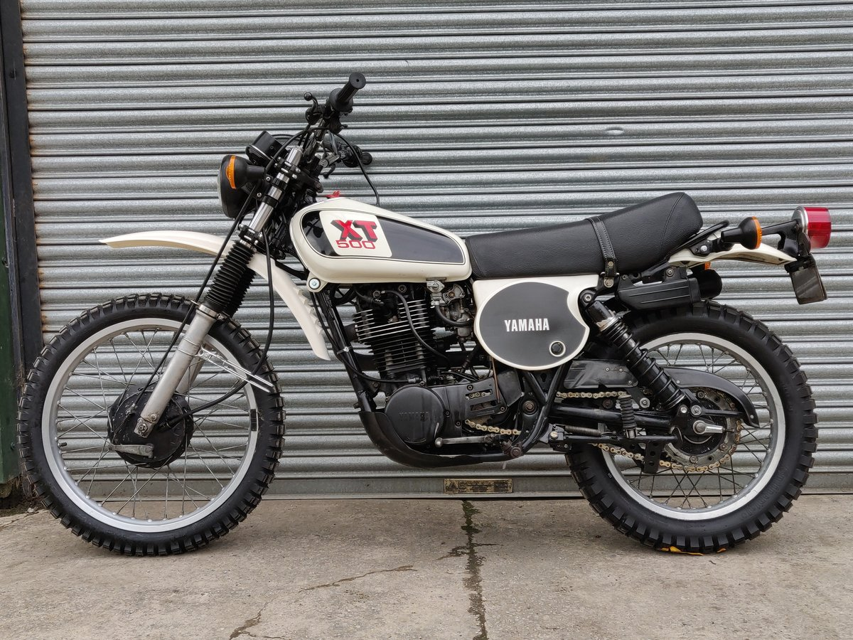 1979 1978 Yamaha XT500 UK Original bike. SOLD For Sale (picture 8 of 8)