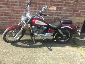 Yamaha xvs125 dragstar 2001 8100 miles full mot For Sale