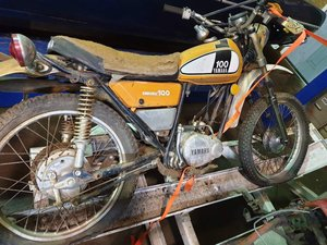 1975 Yamaha DT100 - Scarce Matching Numbers Trail Bike For Sale