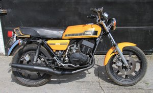 1980 Yamaha RD400-F - Restoration Project - Running