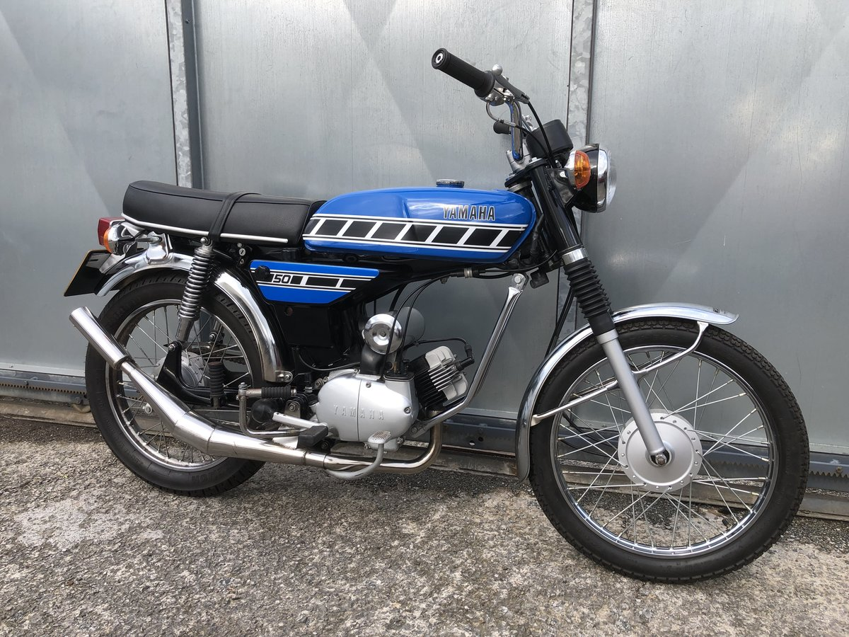 1977 YAMAHA FS1E FIZZY 50CC MOPED ONE OF THE BEST! £5795 ONO PX  For Sale (picture 1 of 6)