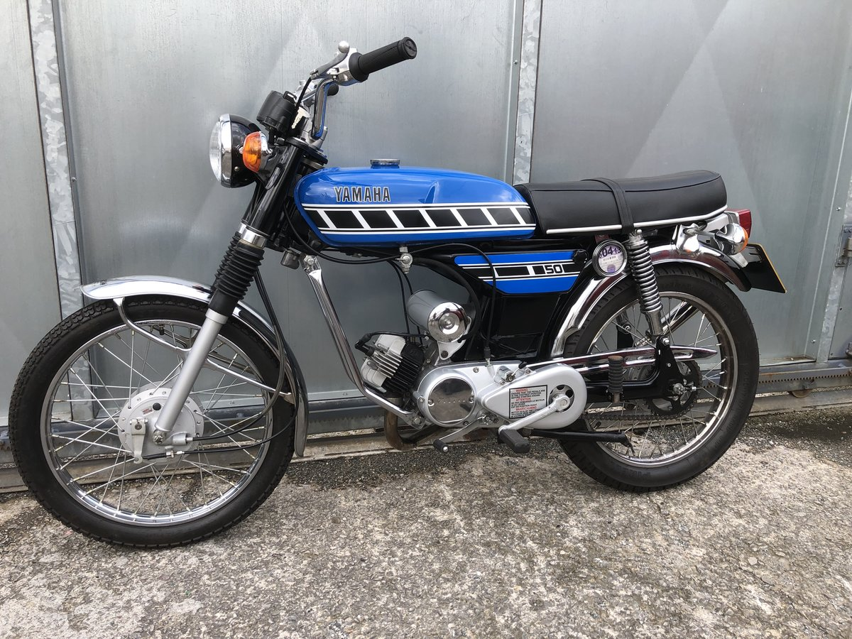 1977 YAMAHA FS1E FIZZY 50CC MOPED ONE OF THE BEST! £5795 ONO PX  For Sale (picture 2 of 6)