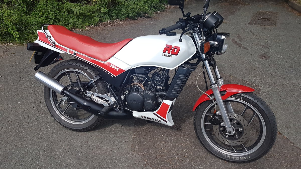 1986 yamaha rd125lc with ypvs engine full mot.uk bike  For Sale (picture 1 of 6)