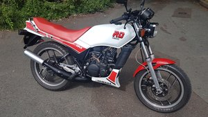 1986 yamaha rd125lc with ypvs engine long mot.uk bike  For Sale