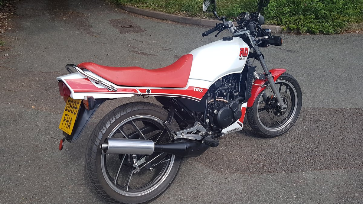 1986 yamaha rd125lc with ypvs engine full mot.uk bike  For Sale (picture 2 of 6)