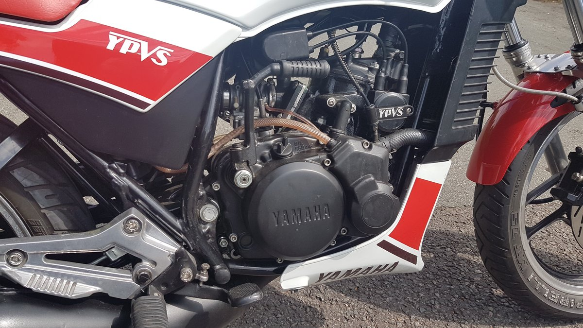 1986 yamaha rd125lc with ypvs engine full mot.uk bike  For Sale (picture 5 of 6)